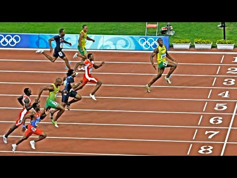TOP 10 | Men's 100m Sprints Of All Time | 2020 HD