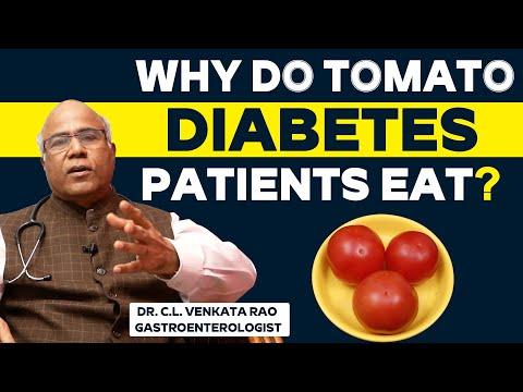 Why Do Tomato Diabetes Patients Eat? | Dr. C.L. Venkata Rao Gastroenterologist | Health and Beauty