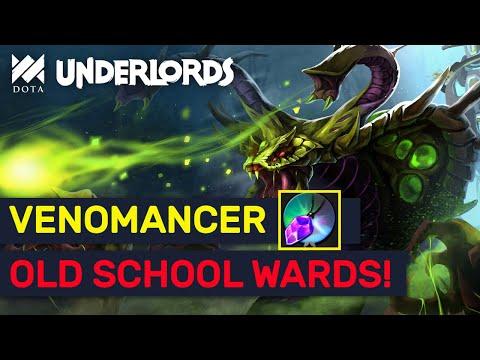 Octarine Venomancer! Old School Savage Summoner Build! | Dota Underlords