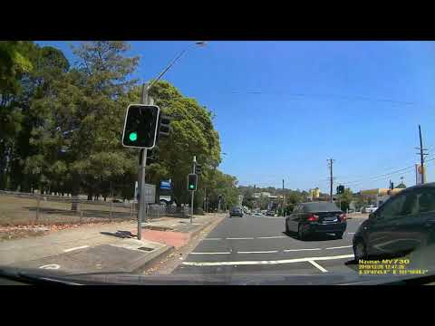 Realtime Driving Dee Why to Warringah Mall