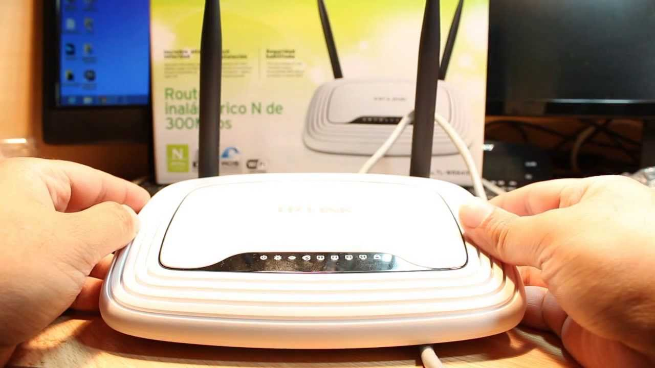 TP Link TL WR841N Wireless N Router Hard Reset and setup again