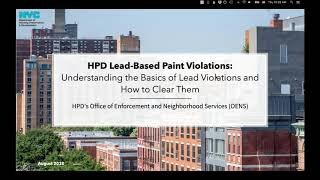 HPD Lead-based Paint Violations: Understanding the Basics of Lead Violations and How to Clear Them