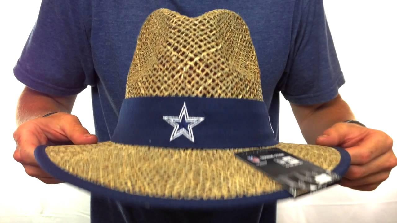 Cowboys  NFL TRAINING STRAW  Hat by New Era - YouTube 84af8c89cde3