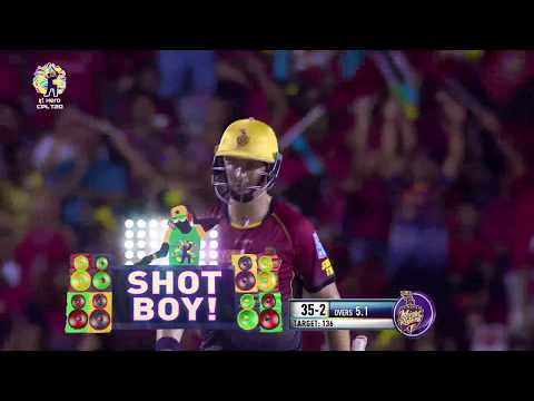 CPL T20 FINAL | TKR SIXES | HERO CPL 2017 | TKR