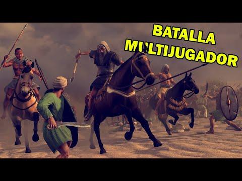 Total War ROME 2   Batalla ÉPICA Con Kush Vs Bactria