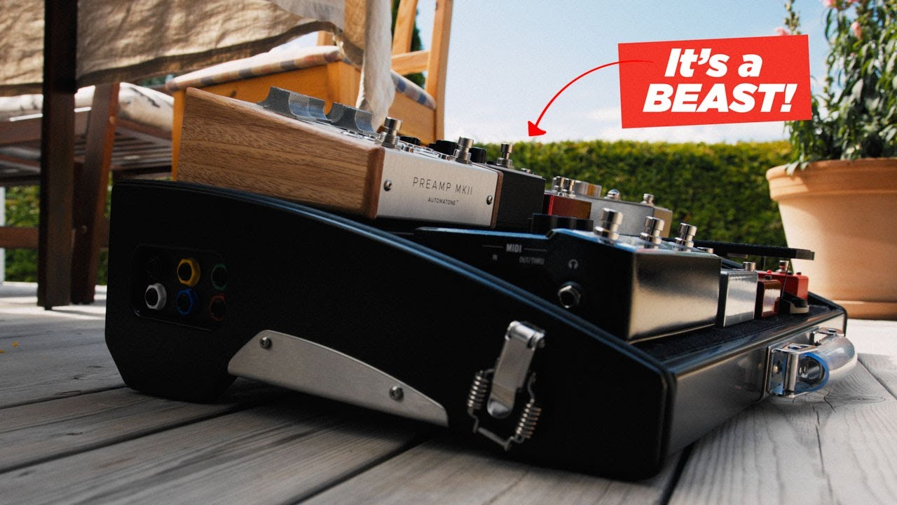 How I put together the best Pedalboard (I've ever seen!)