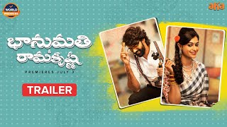 Bhanumathi & Ramakrishna Trailer | First On AHA | Naveen Chandra, Salony Luthra, Srikanth Nagothi