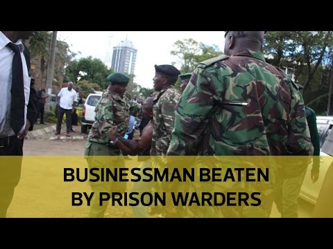 City businessman beaten by prison wardens outside High Court