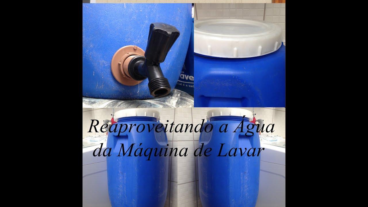 Muito Como reaproveitar água da Máquina - How to make a reservoir for  TD72