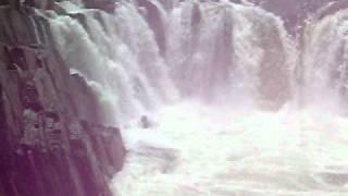 Dhuwadhar Jalprapat at Bhedaghat on Narmada River near Jabalpur in India