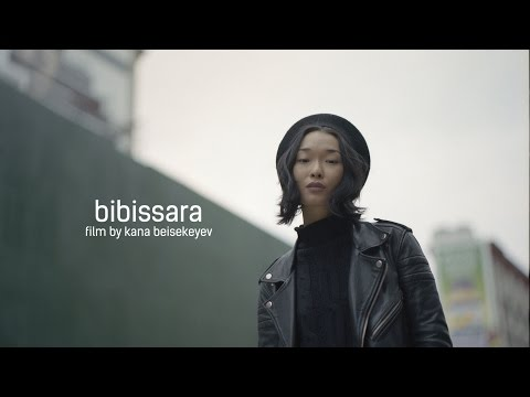 kazakh model in New York | bibissara