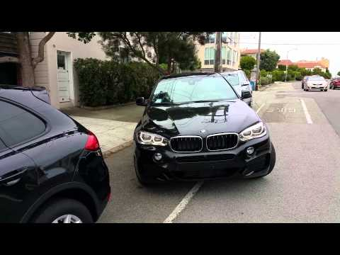 BMW X6 M Sport Parking Assist ( Self auto park )