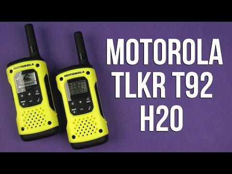 Распаковка Motorola TLKR T92 H2O