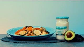 Pechuga de pollo a las finas hierbas con mayonesa   Cocina Fácil