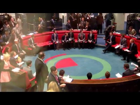 Inside LME - Open outcry ring trading inside London Metal Exchange