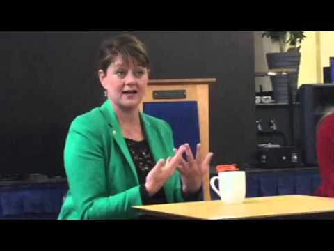 Leanne Wood answers - Do I have to speak Welsh to support Plaid Cymru?