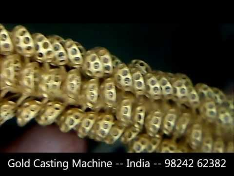 Process of making gold casting tree.wmv