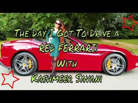 Ferrari Cruising with Kashmeer