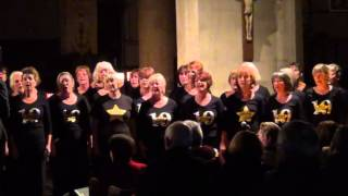 Rock Choir sing Fall At Your Feet in Redditch