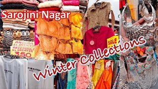 Sarojini Nagar Market Winter Collections l Ethnic Collections l Cloth, Footwear, Jewelleries