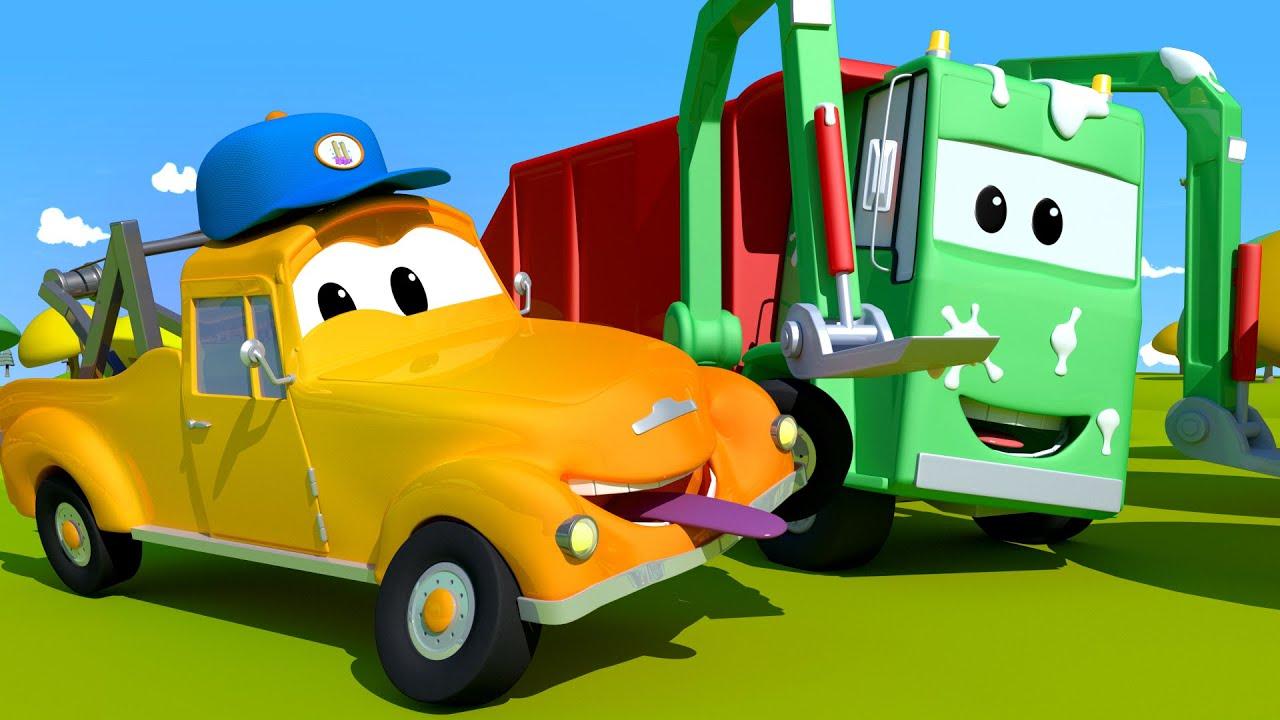 Tiệm rửa xe của Tom –  Ngày Cá Tháng Tư : Gary bị chơi khăm – Thành phố xe 💧 phim hoạt hình về