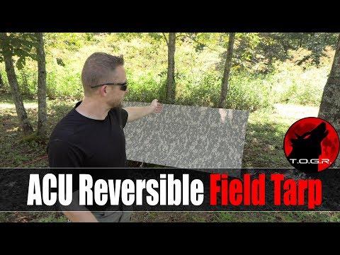 Almost The Same....Almost - USGI ACU Reversible Field Tarp