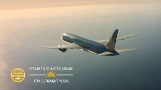 Vietnam Airlines - Hai năm liên tiếp là hãng hàng không quốc tế 4 sao.