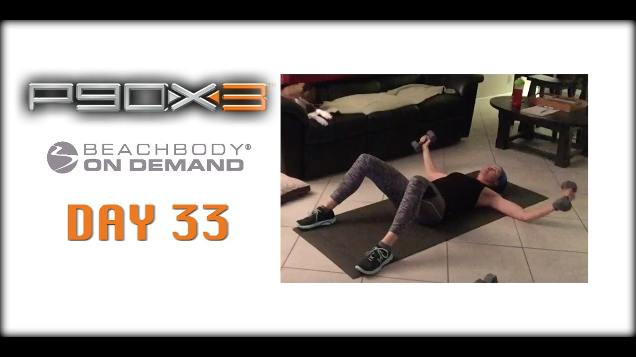 Day 33 of P90X3 - Incinerator!