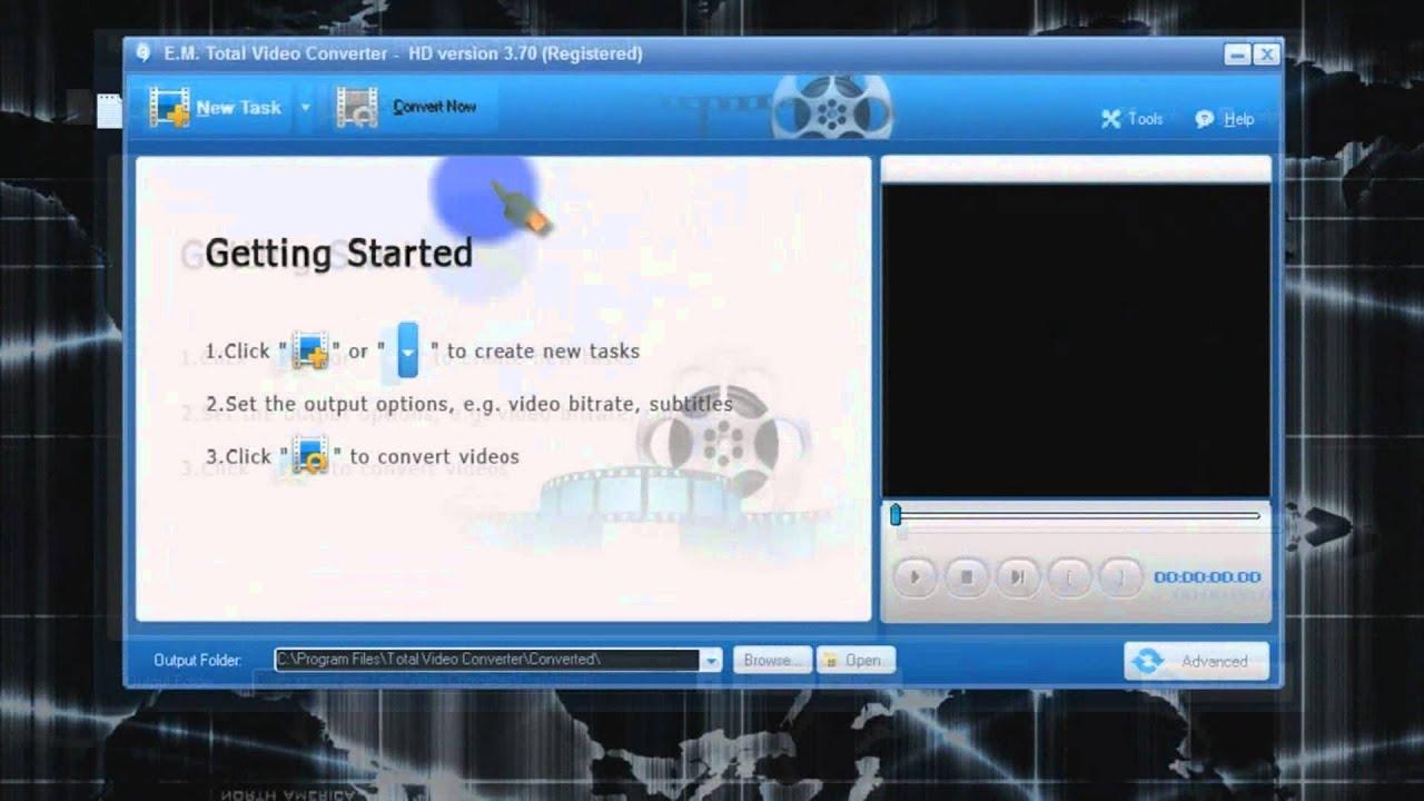Total Video Converter 3.71 Crack & License Key Download