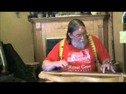"Ben Seymour plays ""Hares on the Mountain"" on a Sycamore Dulcimer"