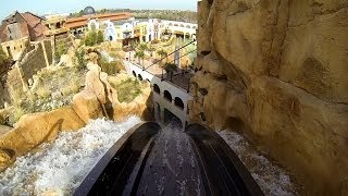 Chiapas - Die Wasserbahn im Phantasialand: Onride (RideOnBlog.com)