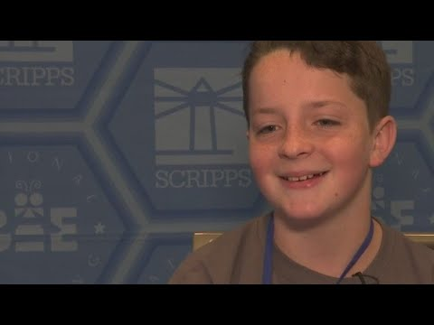 Barwise Middle School student makes it through first round of Scipps National Spelling Bee