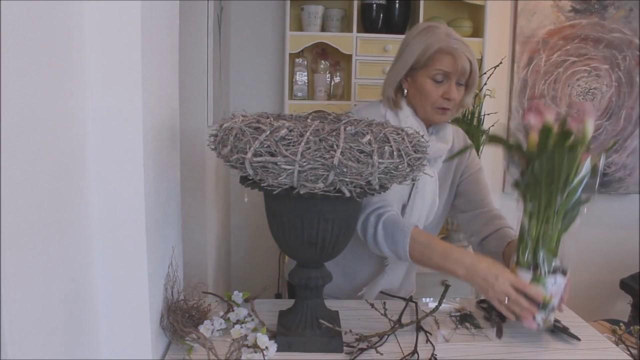 fr hlingsdeko fein trifft rustikal b rbel s wohn. Black Bedroom Furniture Sets. Home Design Ideas