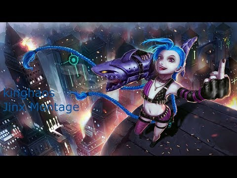 Jinx Montage 8 - Best Jinx Plays - League of Legends