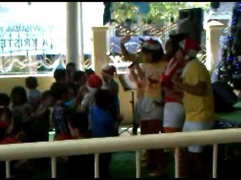Sunshine - Jingle Bells Rock (El Shaddai Preschool Christmas Celebration)