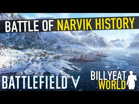 Real History: BATTLEFIELD 5 - The Battle of Narvik (Lore w/ BFV Gameplay)