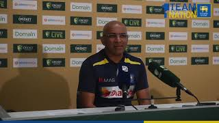 Chandika Hathurusingha - 2nd Test, Day 2 Post Match Press