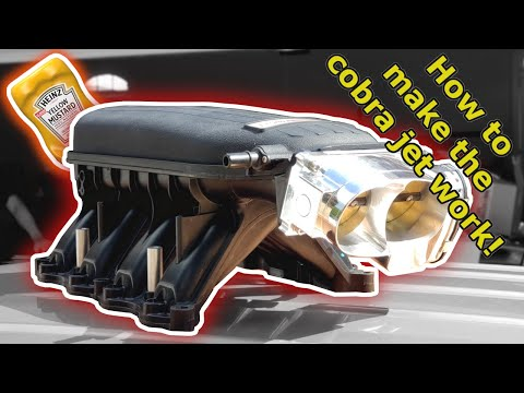 How To Get The Cobra Jet Intake To Work | Tips And Tricks!