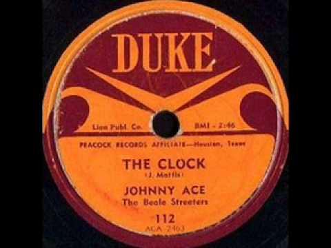 JOHNNY ACE   The Clock   MAY '53