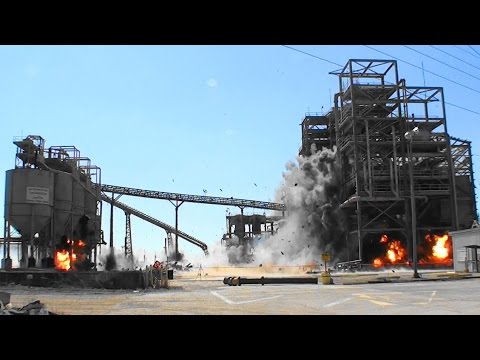 Phosphate Mine Structures - Controlled Demolition, Inc.