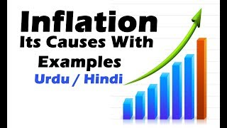 What is inflation & its major causes (with examples) ? Urdu / Hindi