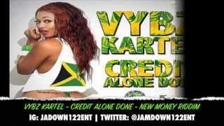 Vybz Kartel - Credit Alone Done - Audio - New Money Riddim [Fresh Ear Production] - 2014