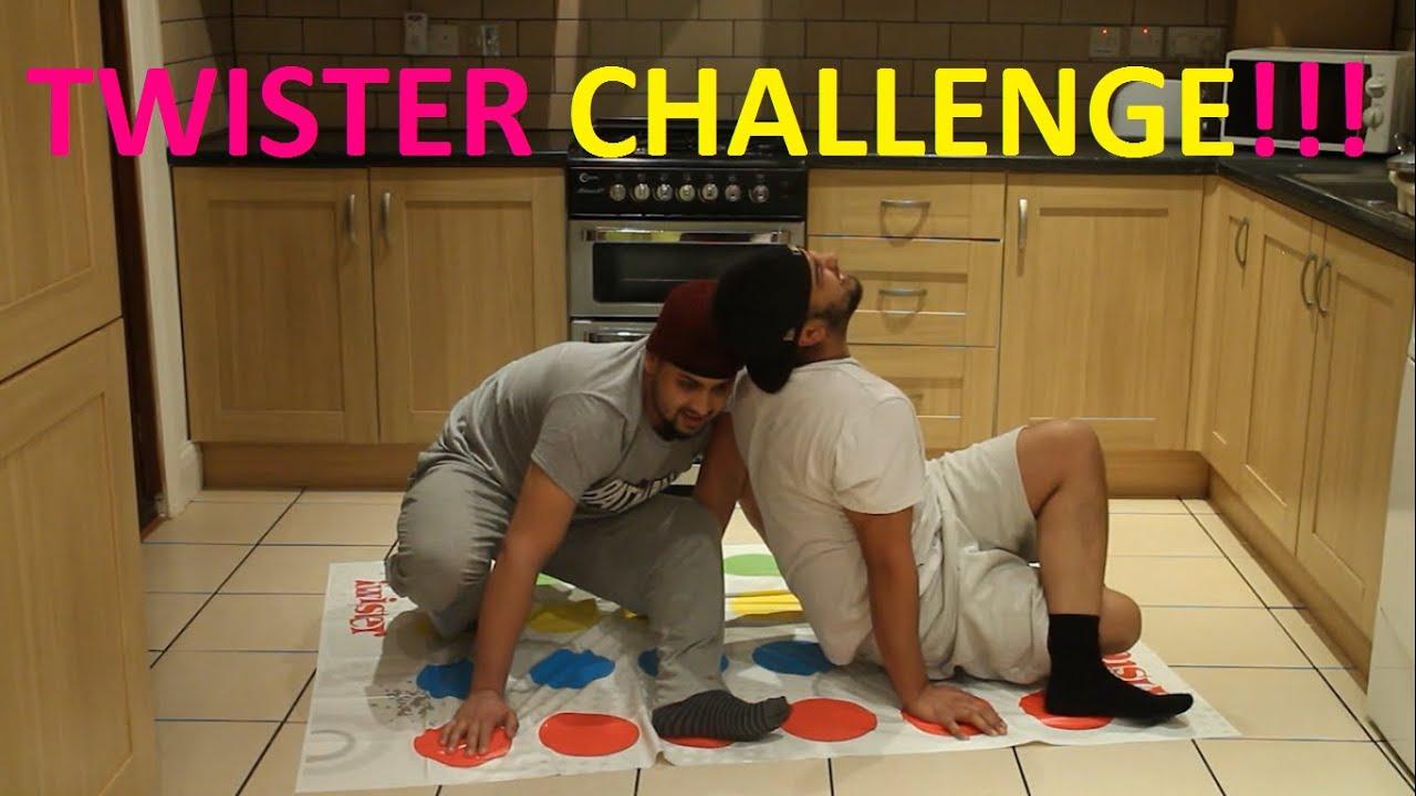 Insane Twister Challenge! (Socks Edition) - YouTube