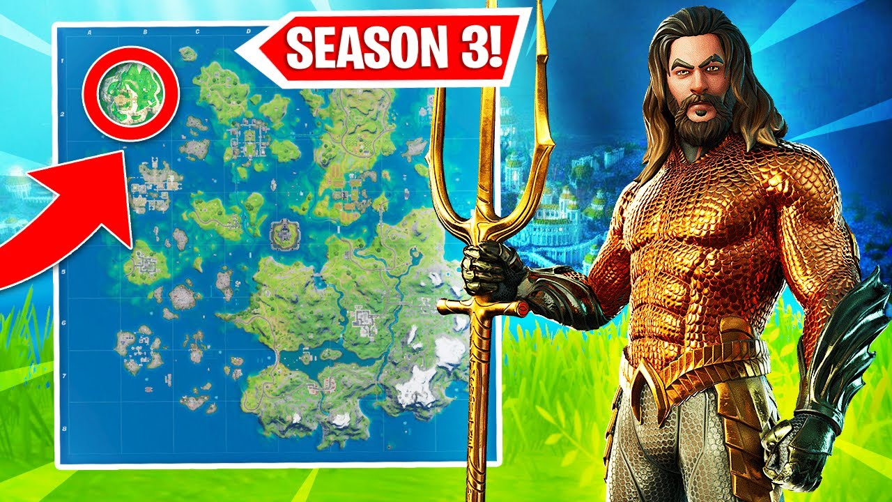 New Atlantis Location Coming To Fortnite Fortnite Season 3 Youtube