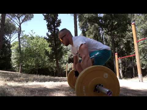 Short Barbell   Train Everywhere   Made In Italy Training Equipment