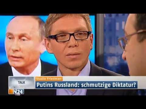 Studio Friedman: Droht ein neuer Kalter Krieg in Europa? (Ganze Sendung 13.03.2014)