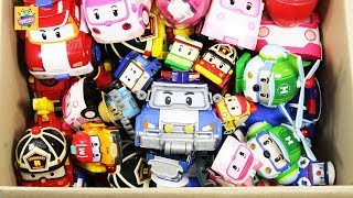 Robocar poli city Vehicle friend's full Box Play toys funny video for kids