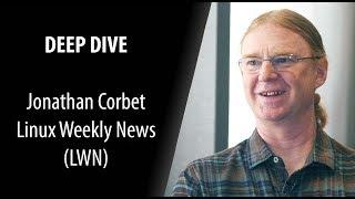 Jonathan Corbet, founder LWN | Deep Dive with Swapnil Bhartiya