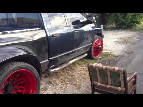 Dodge ram 1500 dually conversion on airbags