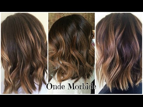 Onde Morbide Capelli Medio Corti Youtube